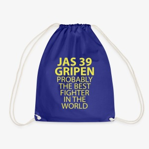 Gripen - Probably the best fighter - Gymnastikpåse