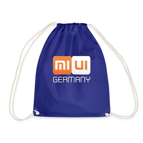 MIUI Ger Logo Kompakt png - Turnbeutel