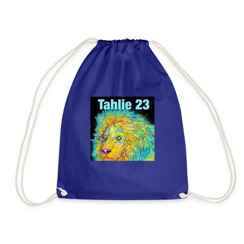 Tahlie 23 lion logo - Drawstring Bag