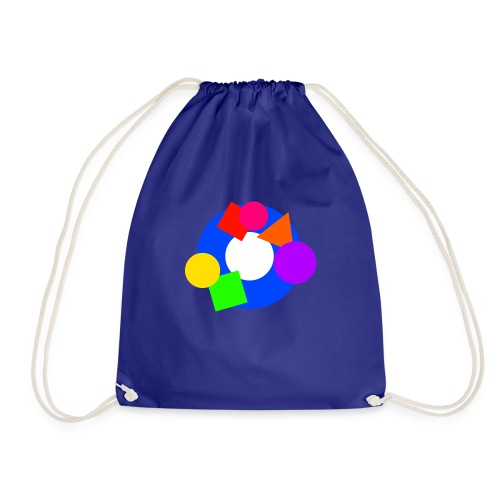 shapes - Drawstring Bag