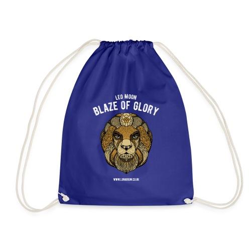 Leo Moon Dark - Drawstring Bag