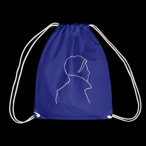 David Bowie Low (white) - Drawstring Bag