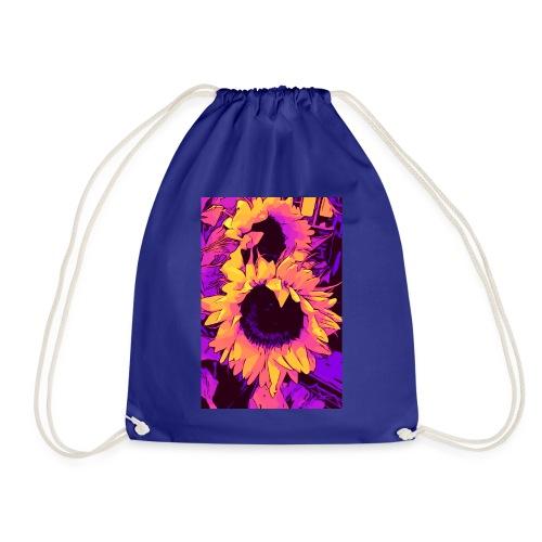 Funky Sunflower - Sonnenblumen / welikeflowers - Turnbeutel