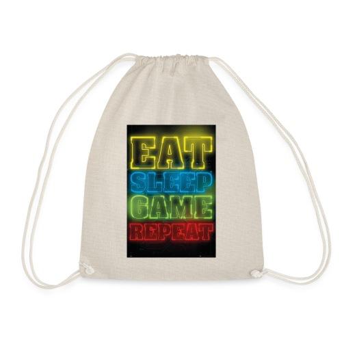 eat sleep game repeat - Gymtas