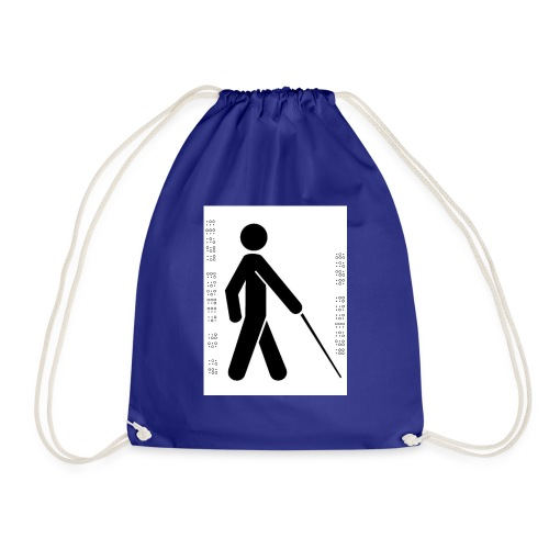 Blind T-Shirt - Drawstring Bag
