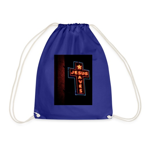 Jesus Saves - Drawstring Bag