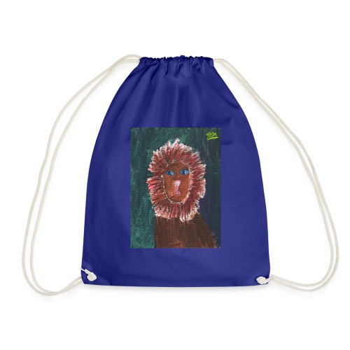 Lion T-Shirt By Isla - Drawstring Bag