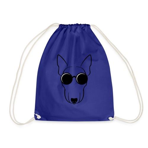 bull terrier - Mochila saco