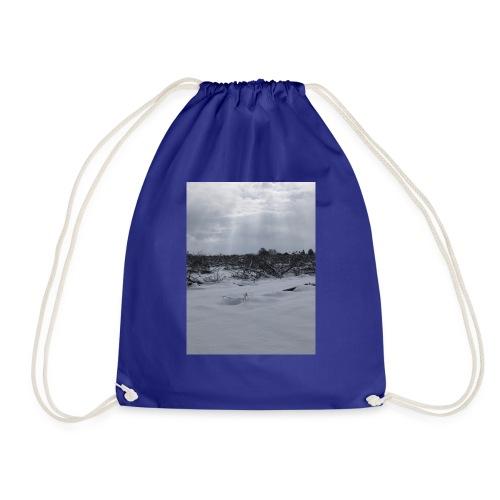 snow for days - Drawstring Bag