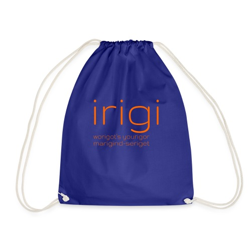 irigi-logo-007 - Drawstring Bag