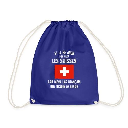 Et le 8ème jour Suisse - Sac de sport léger