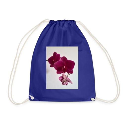 Orchideen lila - Turnbeutel
