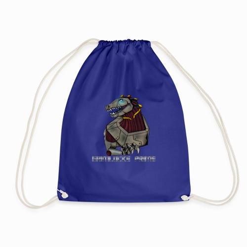 Angry Plushasaur - Drawstring Bag