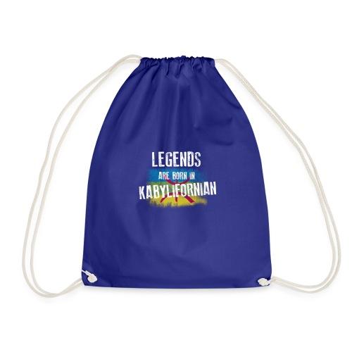 Legends are born in kabylifornian - Sac de sport léger