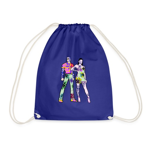 Love is 2 people (Couple/Amour) Tatoo - Sac de sport léger