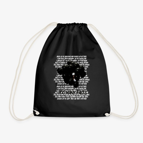 Too many faces (NF) - Drawstring Bag
