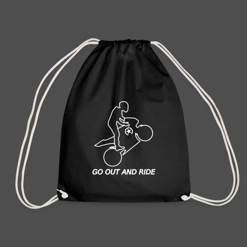 wyjdź i jeźdź na kołach superbike - Worek gimnastyczny