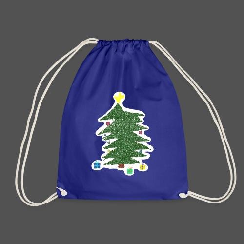 Christmas Kids-Drawing - Turnbeutel