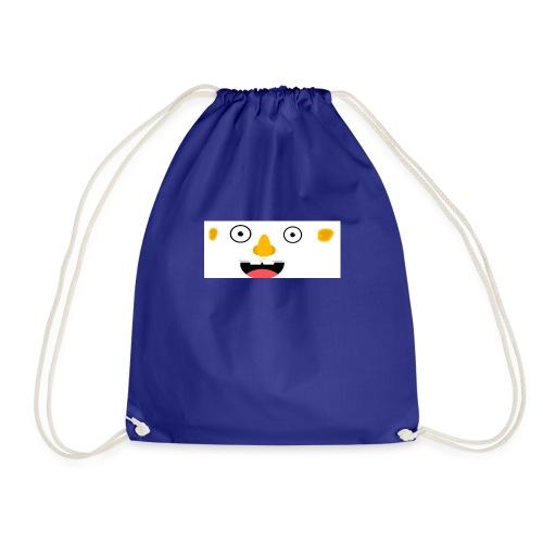 CRAZY FACE - Drawstring Bag