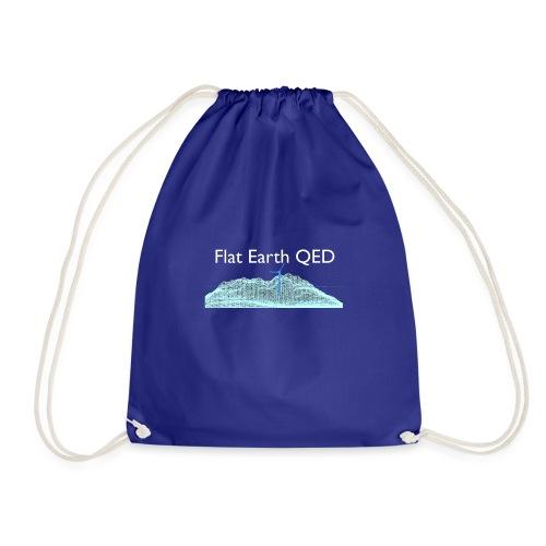 Flat Earth QED - Drawstring Bag