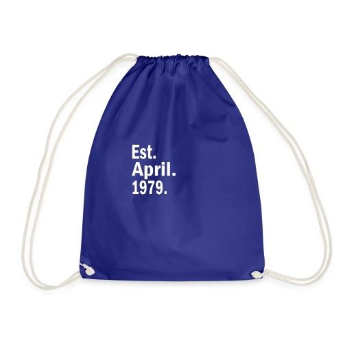 Est April 1979 - Drawstring Bag
