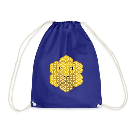 The Lion Of Life - Alpha Male, Crown 02 - Drawstring Bag