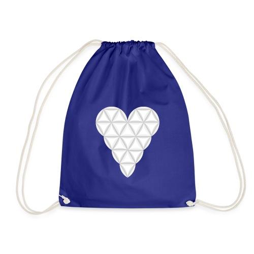 nThe Heart of Life x 1, New Design /Atlantis - 02. - Drawstring Bag
