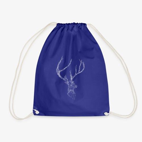 Deer head hertenkop gewei - Gymtas