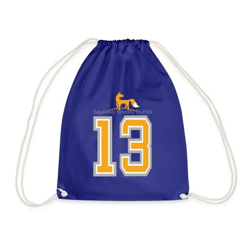 team shirt number 13 - Sportstaske