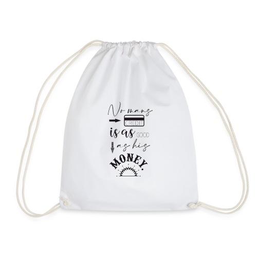 Bank Notes - Drawstring Bag