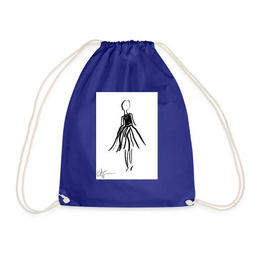 Lady - Drawstring Bag