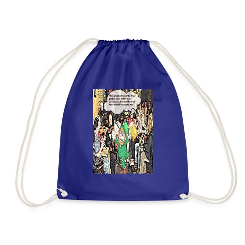 The Greatest Trick The Trad Player Ever Pulled - Drawstring Bag