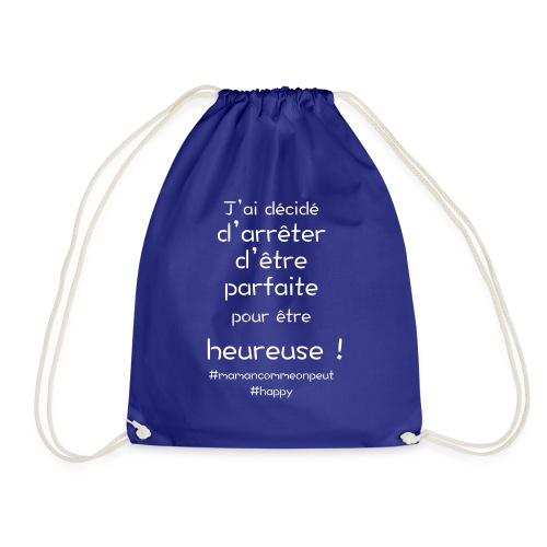 t-shirt_happy_white - Sac de sport léger
