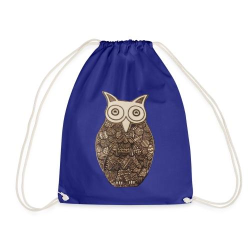 Pyro Owl - Drawstring Bag