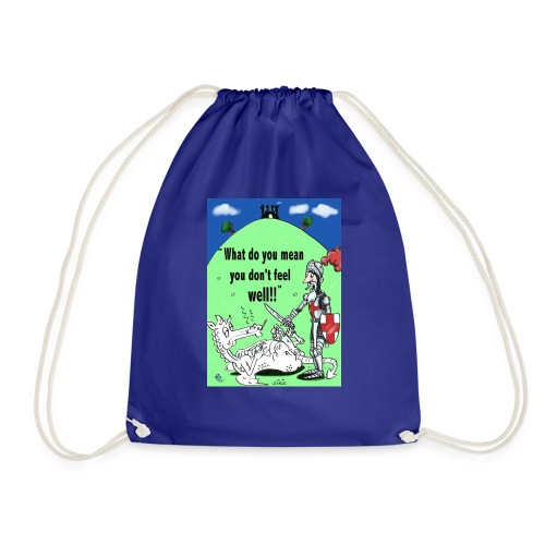 Untitled 1 - Drawstring Bag