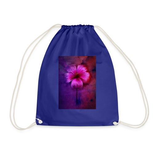 Tropical Hibiscus - Drawstring Bag
