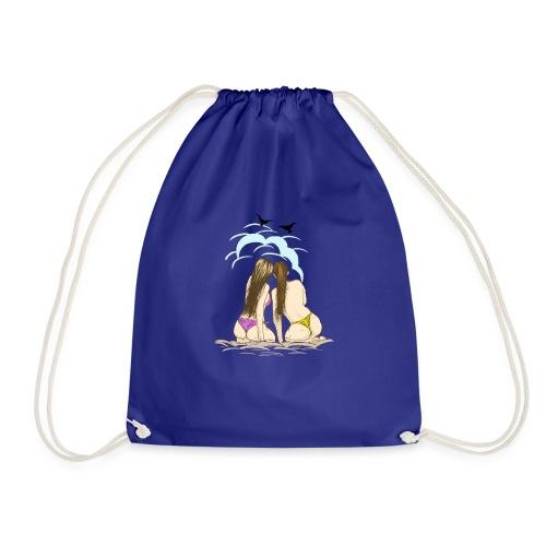Beach Friends - Drawstring Bag