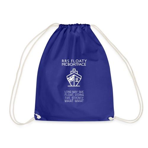 Floaty McBoatface tee - Drawstring Bag