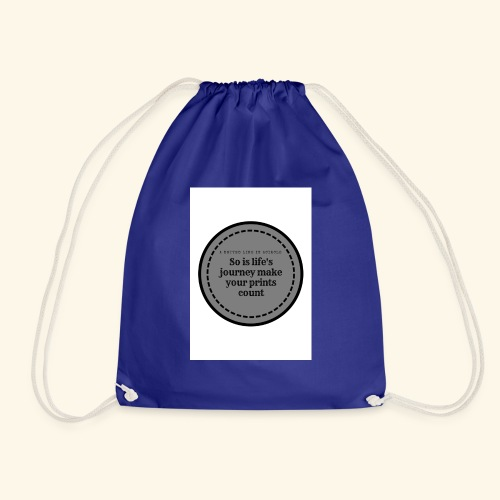 So is life s journey - Drawstring Bag