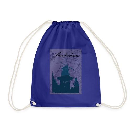 Amsterdam city - Drawstring Bag