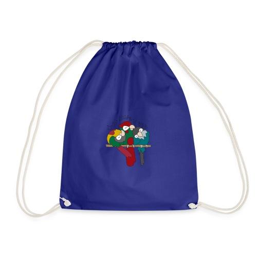 Do Not Disturb The Birb - Drawstring Bag