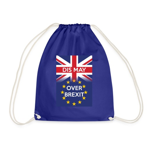 Dis may over Brexit - Drawstring Bag