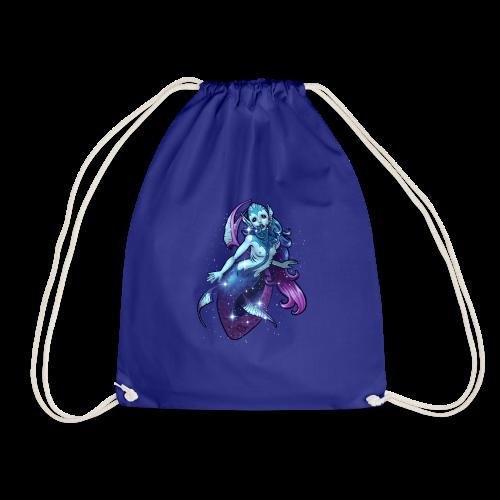 Alien-Mermaid von Bianca Saxonja - Turnbeutel