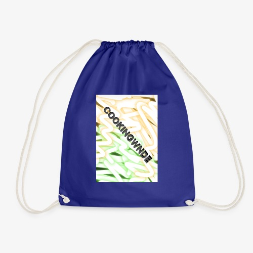 Two tones design - Drawstring Bag