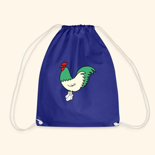 gallo con i calzini - Sacca sportiva