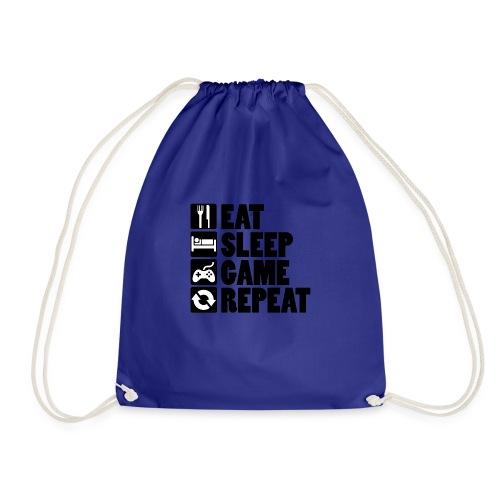 Eat Sleep Game Repeat - Sportstaske