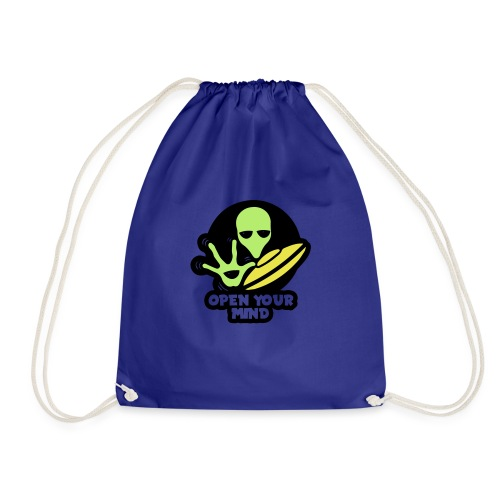 Alien Open your mind - Drawstring Bag