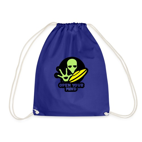 Alien Open your mind - Drawstring Bag
