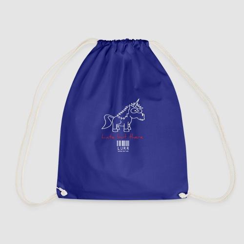 lurr unicorn - Drawstring Bag
