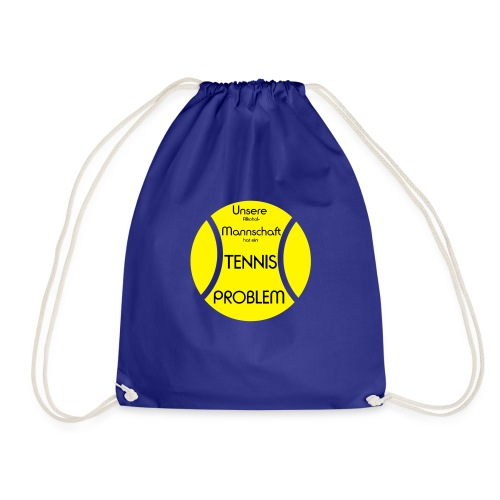 Tennisball-problem-2farb - Turnbeutel
